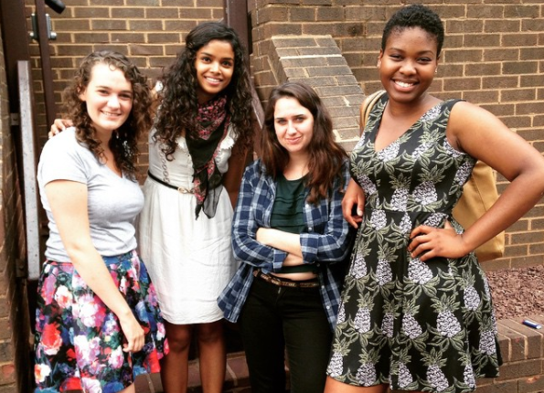 Memunatu Summer Interns 2015